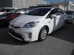 沖縄の中古車 トヨタ プリウスPHV 車両価格 129万円 リ済別 平成25年 5.9万K ホワイト