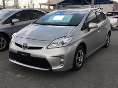 沖縄の中古車 トヨタ プリウス 車両価格 113万円 リ済別 平成24年 7.0万K シルバー