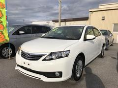 沖縄の中古車 トヨタ アリオン 車両価格 149万円 リ済別 平成27年 0.7万K ホワイト