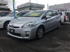 沖縄の中古車 トヨタ プリウス 車両価格 95万円 リ済別 平成23年 7.3万K シルバー