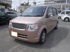 沖縄の中古車 三菱 eKワゴン 車両価格 50万円 リ済込 平成25年 2.4万K ピンクM
