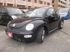 沖縄の中古車 フォルクスワーゲン VW ニュービートル 車両価格 44万円 リ済別 2005年 3.2万K ブラックM