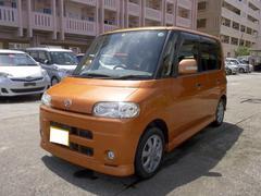 沖縄の中古車 ダイハツ タント 車両価格 35万円 リ済込 平成19年 4.5万K オレンジ