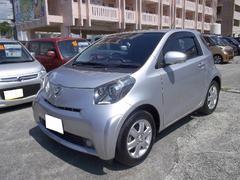 沖縄の中古車 トヨタ iQ 車両価格 49万円 リ済込 平成21年 6.3万K シルバー