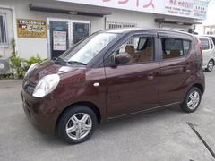 沖縄の中古車 日産 モコ 車両価格 39万円 リ済込 平成21年 9.4万K ブラウン