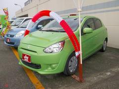 沖縄の中古車 三菱 ミラージュ 車両価格 58万円 リ済込 平成24年 4.4万K LグリーンM