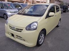 沖縄の中古車 ダイハツ ミライース 車両価格 49万円 リ済込 平成25年 3.4万K ライトイエロー