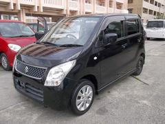 沖縄の中古車 スズキ ワゴンR 車両価格 39万円 リ済込 平成21年 6.5万K ブラック