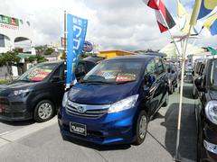 沖縄の中古車 ホンダ フリード 車両価格 79万円 リ済込 平成24年 8.2万K ブルー