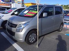 沖縄の中古車 マツダ AZワゴン 車両価格 37万円 リ済込 平成23年 7.1万K シルバー