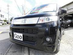 沖縄の中古車 スズキ ワゴンRスティングレー 車両価格 48万円 リ済込 平成21年 9.4万K ブラックM