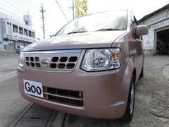 沖縄の中古車 日産 オッティ 車両価格 34万円 リ済込 平成22年 8.9万K ピンクM