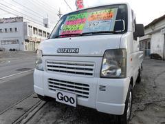 沖縄の中古車 スズキ キャリイトラック 車両価格 42万円 リ済込 平成18年 9.7万K ホワイト
