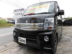 沖縄の中古車 スズキ エブリイワゴン 車両価格 82万円 リ済込 平成23後 8.9万K ブラックM