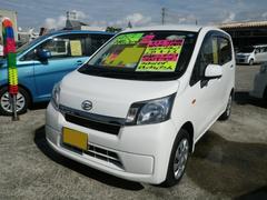 沖縄の中古車 ダイハツ ムーヴ 車両価格 71万円 リ済込 平成26年 5.6万K ホワイト