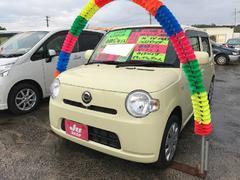 沖縄の中古車 ダイハツ ミラココア 車両価格 75万円 リ済込 平成24年 7.2万K コットンアイボリー
