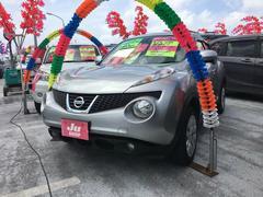 沖縄の中古車 日産 ジューク 車両価格 106万円 リ済込 平成24年 5.7万K ダイヤモンドシルバーM