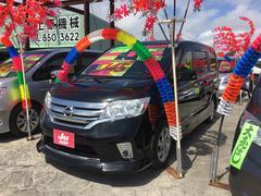 沖縄の中古車 日産 セレナ 車両価格 135万円 リ済込 平成24年 8.6万K スーパーブラック