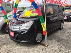 沖縄の中古車 スズキ ソリオ 車両価格 106万円 リ済込 平成27年 6.7万K ブルーイッシュブラックパールIII