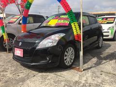 沖縄の中古車 スズキ スイフト 車両価格 86万円 リ済込 平成24年 8.0万K スーパーブラックパール
