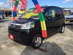 沖縄の中古車 ホンダ ライフ 車両価格 55万円 リ済込 平成23年 6.4万K ナイトホークブラック・パール