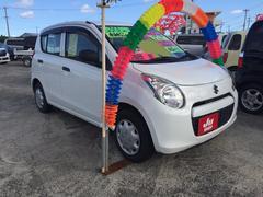 沖縄の中古車 スズキ アルト 車両価格 41万円 リ済込 平成24年 7.1万K スぺリアホワイト