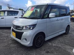 沖縄の中古車 スズキ パレットSW 車両価格 77万円 リ済込 平成24年 4.2万K パールホワイト