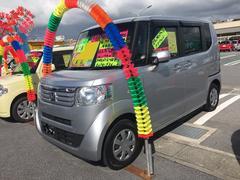 沖縄の中古車 ホンダ N BOX 車両価格 85万円 リ済込 平成24年 7.8万K シルバー