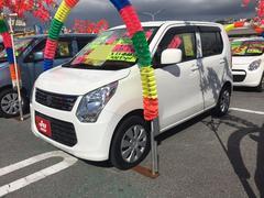 沖縄の中古車 スズキ ワゴンR 車両価格 59万円 リ済込 平成25年 7.2万K スぺリアホワイト