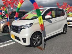 沖縄の中古車 日産 デイズ 車両価格 83万円 リ済込 平成25年 7.1万K ホワイトパール