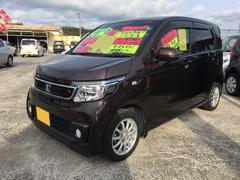 沖縄の中古車 ホンダ N−WGN 車両価格 95万円 リ済込 平成26年 8.5万K プレミアムディープモカパール