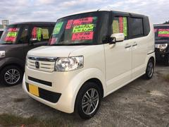 沖縄の中古車 ホンダ N BOX 車両価格 95万円 リ済込 平成25年 7.9万K プレミアムパールホワイト