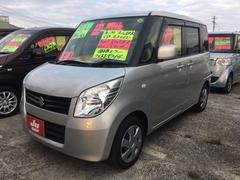 沖縄の中古車 スズキ パレット 車両価格 61万円 リ済込 平成22年 8.6万K シルキーシルバーメタリック