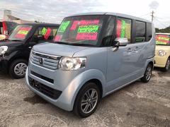 沖縄の中古車 ホンダ N BOX 車両価格 91万円 リ済込 平成25年 7.9万K クールミストメタリック