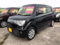 沖縄の中古車 スズキ MRワゴン 車両価格 77万円 リ済込 平成24年 4.3万K ブルーイッシュブラックパール