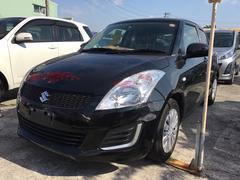 沖縄の中古車 スズキ スイフト 車両価格 87万円 リ済込 平成28年 6.5万K ブラックM