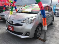 沖縄の中古車 トヨタ ラクティス 車両価格 65万円 リ済込 平成24年 2.1万K シルバーメタリック