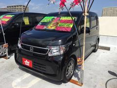 沖縄の中古車 ホンダ N−WGN 車両価格 94万円 リ済込 平成27年 8.3万K ブラック