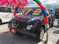 沖縄の中古車 日産 ジューク 車両価格 109万円 リ済込 平成25年 7.6万K グレー