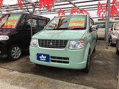 沖縄の中古車 三菱 eKワゴン 車両価格 31万円 リ済込 平成22年 8.6万K ミントグリーン