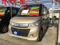 沖縄の中古車 スズキ パレットSW 車両価格 57万円 リ済込 平成22年 9.7万K シャンパンゴールド