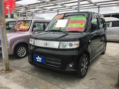 沖縄の中古車 スズキ ワゴンRスティングレー 車両価格 41万円 リ済別 平成20年 8.7万K ブラック