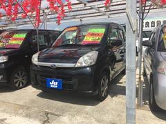 沖縄の中古車 スバル ステラ 車両価格 35万円 リ済込 平成20年 7.0万K ブラック