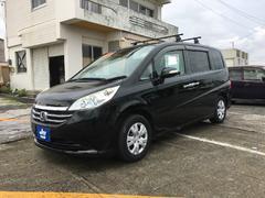 沖縄の中古車 ホンダ ステップワゴン 車両価格 66万円 リ済込 平成20年 9.2万K ブラック