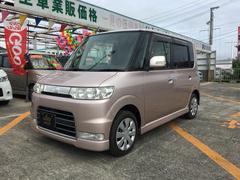 沖縄の中古車 ダイハツ タント 車両価格 25万円 リ済込 平成17年 12.7万K ピンク