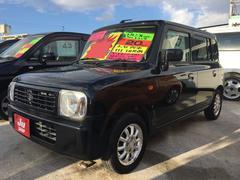 沖縄の中古車 スズキ アルトラパン 車両価格 38万円 リ済込 平成20年 7.6万K ブラック
