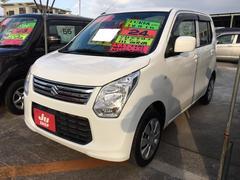 沖縄の中古車 スズキ ワゴンR 車両価格 48万円 リ済込 平成24年 9.0万K パールホワイト