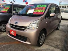 沖縄の中古車 スバル ステラ 車両価格 48万円 リ済込 平成24年 9.1万K ピンクM