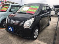 沖縄の中古車 スズキ ワゴンR 車両価格 58万円 リ済込 平成24年 9.1万K ブラック