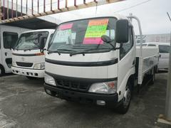 沖縄の中古車 トヨタ ダイナトラック 車両価格 152万円 リ済込 平成14年 13.4万K ホワイト